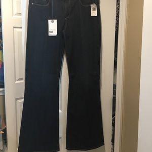 Paige Jeans Hidden Hills Petite Boot Cut Jeans